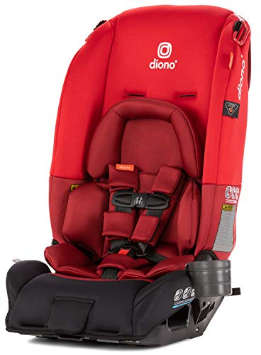 Diono 2019 Radian 3RX All-in-One Convertible Car Seat, Red