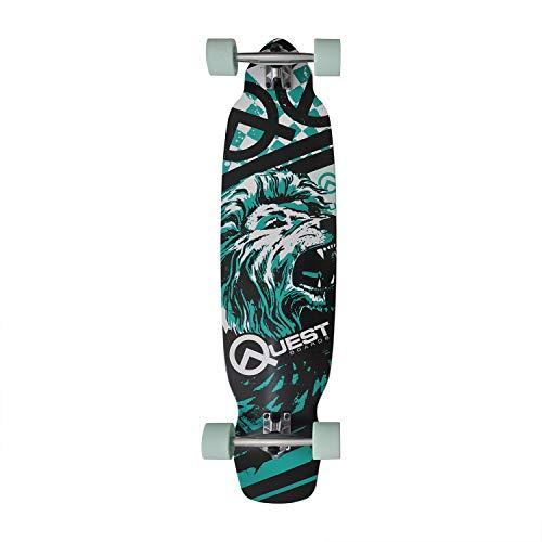 """Quest Skateboards Pride 40"""" Longboard"""