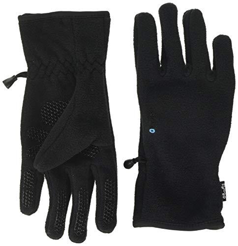 Barts Fleece Glove Kids - Guantes para Niños Unisex, color negro, talla 10-12 años (Tamaño del fabricante: 6)