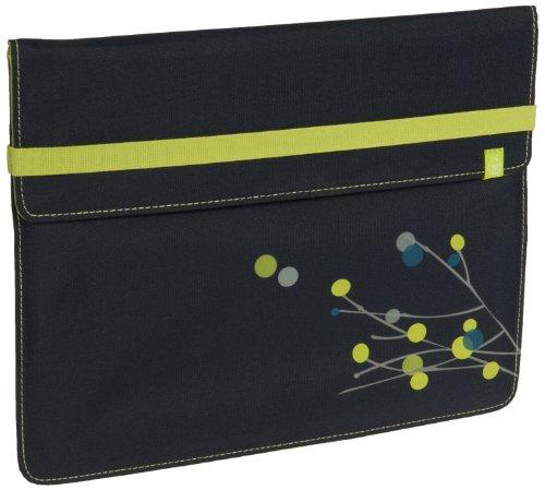 LÄSSIG Ipad Tasche Pouch Schutzhülle Schutz Tasche Sleeve Ipad 1,2 und Ipad Air, Twig navy