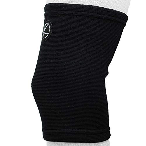Kids Knee Sleeve for Sports - Kids Knee Brace for Osgood-Schlatter- Knee Support for Girls, Boys, Football, Pain, Basketball, Tendonitis, Dance, Gymnastics, Arthritis, ACL, MCL, LCL (Black)