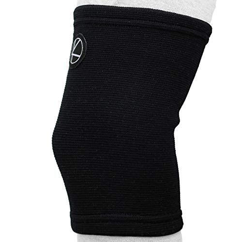 Kids Knee Sleeve for Sports & Kids Knee Brace for Osgood-Schlatter- Knee Support for Girls, Boys, Football, Pain, Basketball, Tendonitis, Dance, Gymnastics, Arthritis, ACL, MCL, LCL (Black)