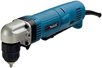 Makita DA3011F DA3011F-Taladro Angular con Luz 450W 2400 RPM Portabrocas 10 Automatico, 450 W, 230 V, 10mm
