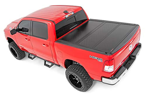 Rough Country Low Profile Hard Tri-Fold (fits) 2009-2018 Ram 1500 | 5.7 FT Bed | w/o Rambox | Tonneau Cover | 47319550