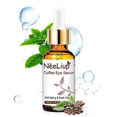 Eye Serum - Under Eye Treatment for Dark Circle, Anti Aging, Eye Puffiness & Eye Moisturizer with Vitamin C & Hyaluronic Acid Eye Serum by Neeliup