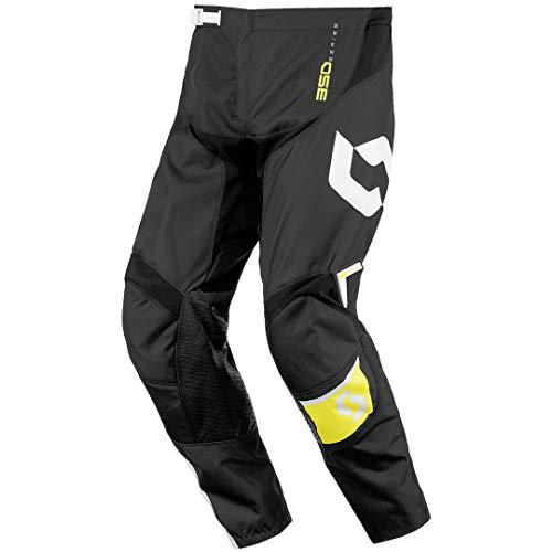 Scott 350 Dirt Kids Kinder MX Motocross/DH Fahrrad Hose schwarz/gelb 2016: Größe: 28