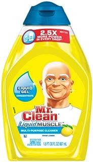 Mr. Clean Concentrated multi purpose cleaner, Crisp Lemon, 16oz (Pack of 2)