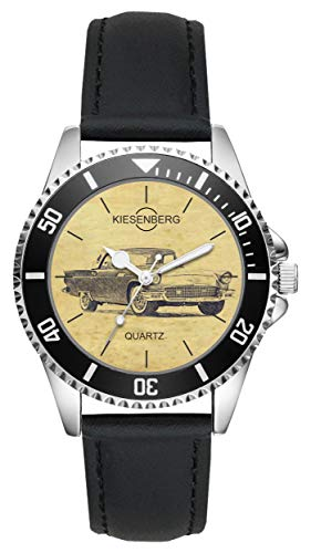 Geschenk für Ford Thunderbird Serie 1 Oldtimer Fahrer Fans Kiesenberg Uhr L-6442