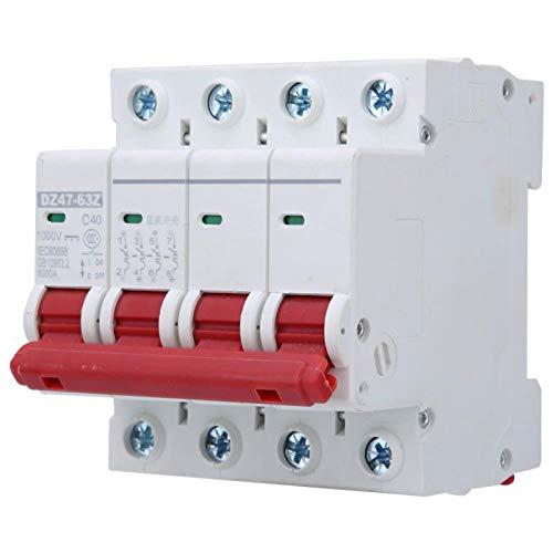 Interruptor de aire, MCB, antioxidante Resistencia a altas temperaturas Resistencia al desgaste profesional para sistemas de generación de energía pequeños Industria de(40A)
