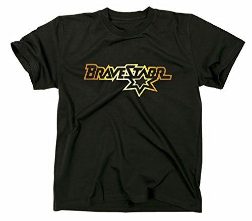 #2 Bravestarr Logo T-Shirt, XL, schwarz