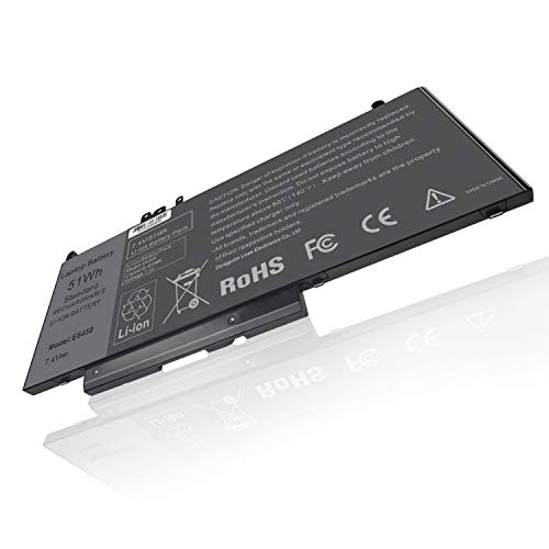 TREE.NB Battery GMT4T 79VRK 7V69Y TXF9M 5185U for Dell Latitude E5450 E5550 Notebook 15.6'