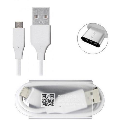 LG USB Type-C Kabel EAD63849201 TypeC DC12WB-G für LG G5 H820, H830, LS992, US992, VS987 Weiß