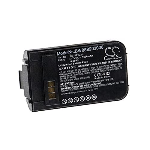 vhbw Batería Recargable Compatible con EnGenius DuraFon 1X, 4X, Pro teléfono Fijo o inalámbrico (1800 mAh, 3,7 V, Li-Ion)