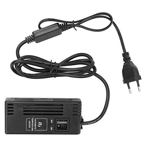 Mini Varilla de Calentamiento, Calentador de Acuario con Pantalla Digital, Controlador de Temperatura AC220V H3‑150W, con Bajo Consumo de Energía, Calentamiento Rápido, para Peceras Pequeñas(EU Plug)