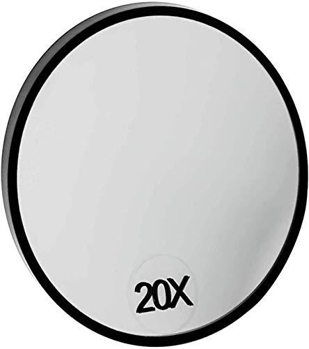 ARAZO - Espejo de 20 aumentos para maquillaje profesional de bolsillo para cejas