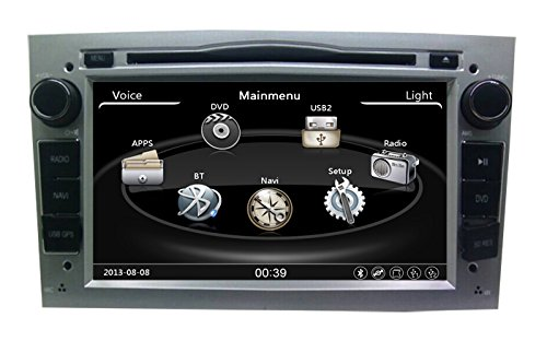 Zestech Car Stereo Navigation Satnav GPS Auto Parts Radio DVD Player for Opel Astra h/Astra J/Astra G/Vectra
