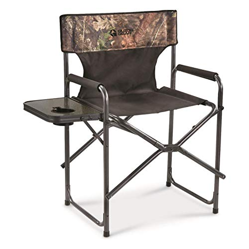 Guide Gear Oversized Tall Director's Camp Chair, 500-lb. Capacity, Mossy Oak Country Camo