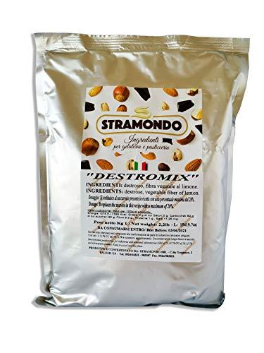Glucosa para reposteria, helado, dulces en polvo 1 KG dextrosa con fibras...