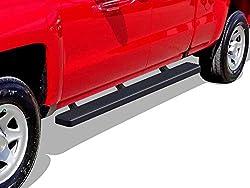 """APS iBoard 5"""" Matte Side Bar for Chevrolet"""