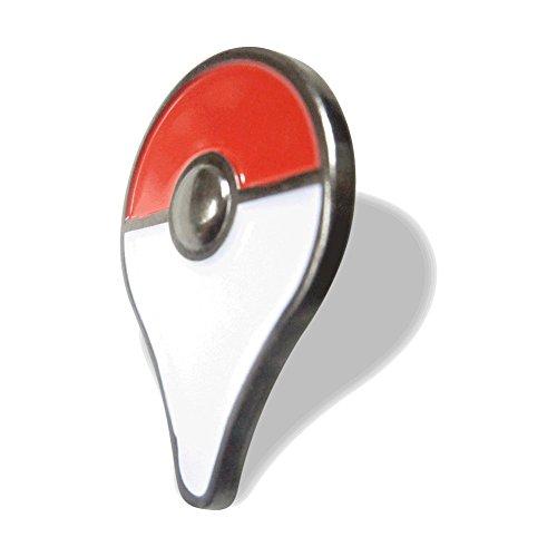 Pokemon GO Plus Pin 30mm Soft Enamel Lapel Pin, Red, One Size