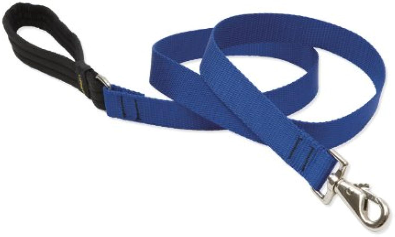 Lupine Dog Lead, 1Inch, 4Foot bluee