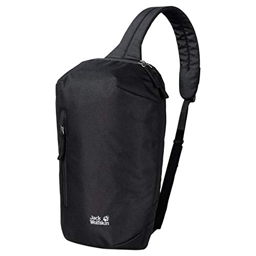 Jack Wolfskin Unisex MAROUBRA SLING BAG Schultertasche, Black, ONE Size