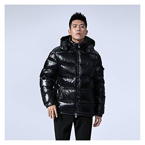 TBAO Winter Warm White Duck Down Jacke Herrenmantel Dicke Herren Hooded Sports Herrenmäntel Herrenbekleidung Oberbekleidung (Size : 2)