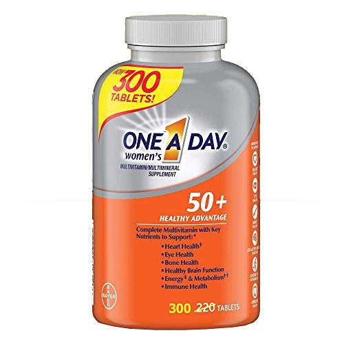 One A Day Women's 50+ Advantage Multivitamins, 300 Count