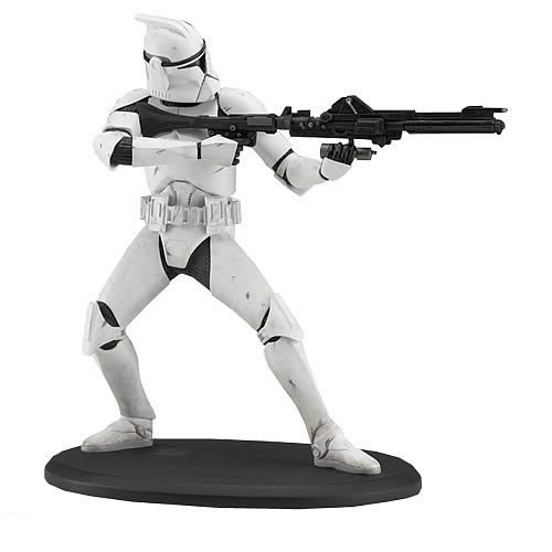 Star Wars Clone Trooper Cold Cast Statue by Attakus image