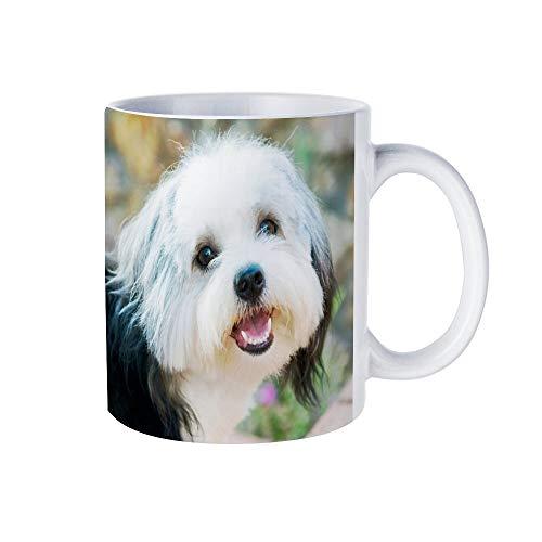 Keramische koffie/theekop cadeau Bailey koffie mokken nieuwigheid witte thee mok 11 Oz