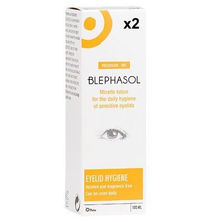 2 x Blephasol 100ml Sensitive Eyelids Eye Lotion
