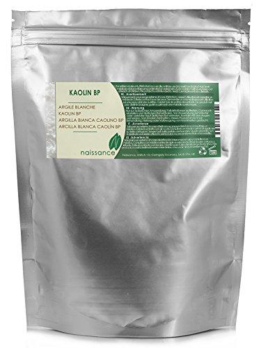 Naissance Argilla bianca caolino BP - Naturale al 100% - 1kg