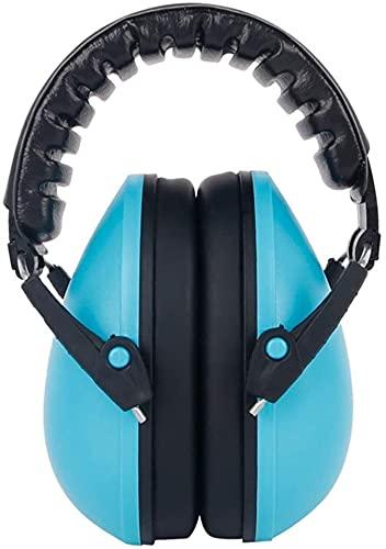 TXXM Baby Dźwiękoszczelne nauszniki, małe małe spanie, zapobieganie hałasem i redukcji hałasu (Color : Blue)