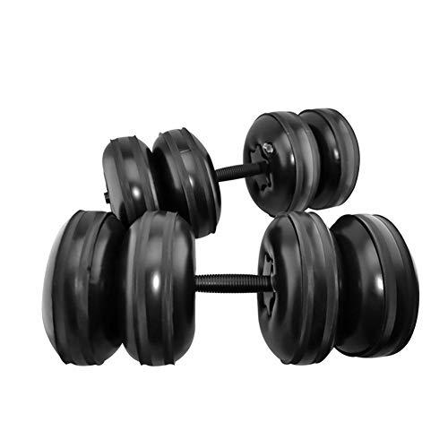 ZSLGOGO Mancuernas Ajustables Llenas de Agua Peso de 25kg, Mancuernas para Entrenamiento de Brazo, Musculación