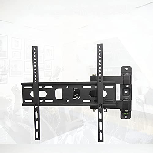 GQTYBZ Soporte de Pared para TV, Soporte de Pared para TV Ultradelgado para Televisores de Plasma LCD de 17'A 55', Soporte de Pared para TV con Inclinación de Perfil Bajo hasta 400x400 Mm