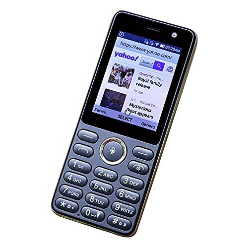 Warmdeco M560F3 Pantalla a Color de 2,4 Pulgadas Teléfono móvil Bluetooth Ranura para Tarjeta SIM Dual Formato 2G 3G Teléfono móvil Antiguo portátil