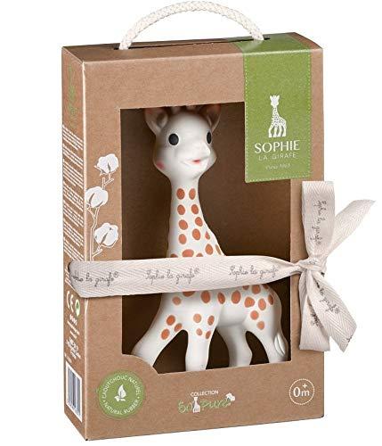 Vulli 616331.0 Sophie the Giraffe So Pure 100 Prozent Naturkautschuk, beige