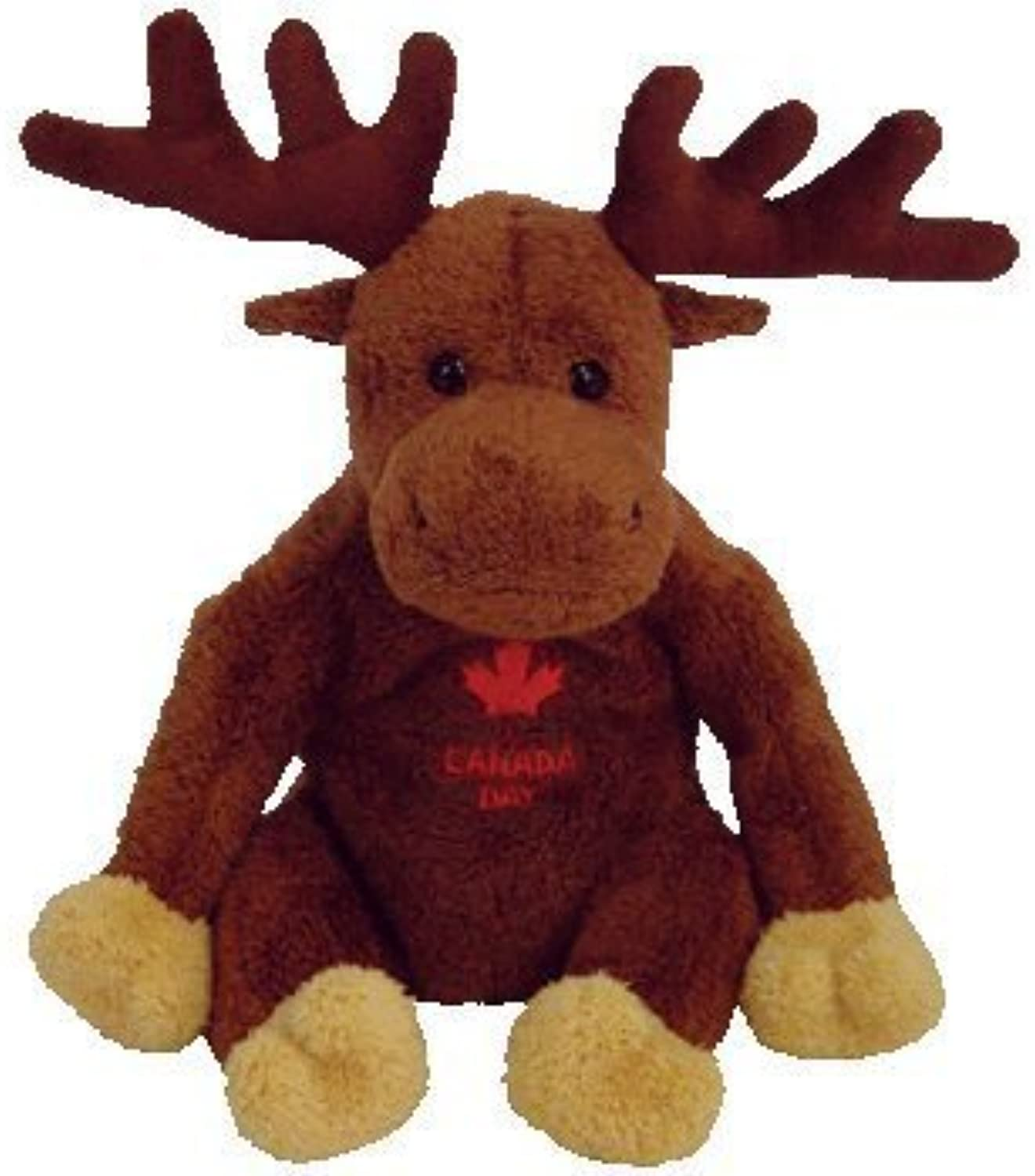 TY Beanie Baby - VILLAGER the Canadian Moose (Canadian Exclusive) by Ty