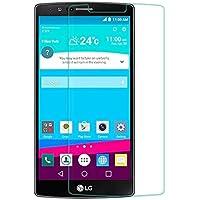 ELECTRÓNICA REY Protector de Pantalla para LG G4 Cristal Vidrio Templado Premium