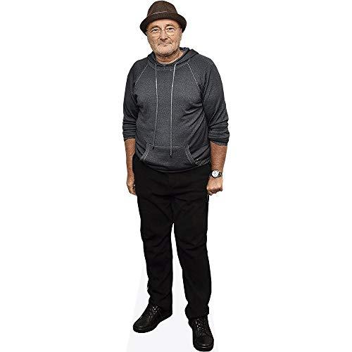 Celebrity Cutouts Phil Collins (Casual) Pappaufsteller lebensgross