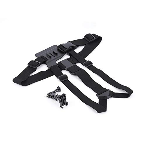 Buy Bargain creatYspace Matte Chest Strap Belt Harness & 3-Way Base Adjustable for GoPro 1 2 3 3+4