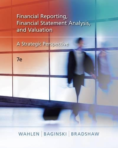 Financial Reporting, Financial Statement Analysis, and...