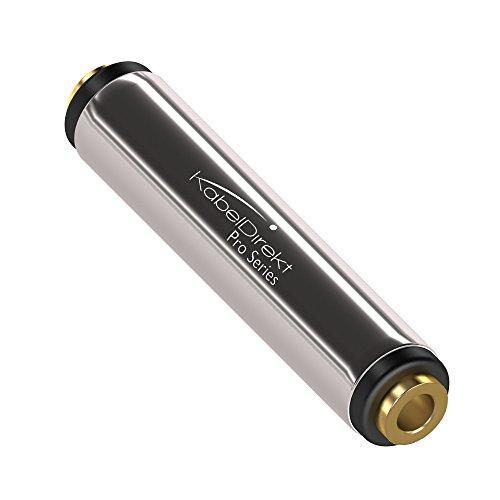 KabelDirekt - Stereo Audio Klinkenkupplung - (für 3.5 mm Klinkenkabel) - PRO Series