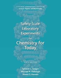 آزمایشات آزمایشگاهی مقیاس ایمنی برای شیمی برای امروز (سری آزمایشگاه Cengage برای عمومی ، ارگانیک و بیوشیمی)