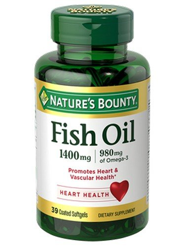 Nature's Bounty Fish Oil 1400 mg Omega-3 Softgels 39 ea