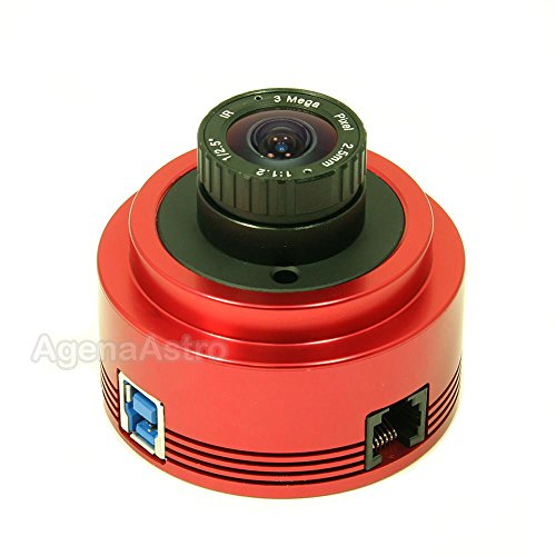 ZWO ASI178MM 6.4 Megapixel USB3.0 Monochrome Astronomy Camera for Astrophotography