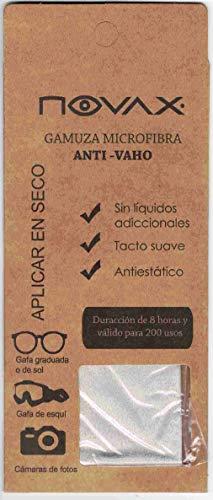 NOVAX Gamuza Microfibra Anti-VAHO - 8 Horas DE Efecto
