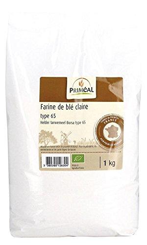 Priméal Farine de Blé France T65 - Bio - 1 kg