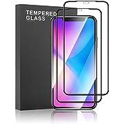 Meidom Panzerglas Kompatibel mit iPhone 11 Pro [2 Stück] 3D Vollständige Abdeckung Anti-Kratzen Einteiliges gehärtetes Glas Schutzfolie für iPhone 11 Pro (5,8 Zoll)