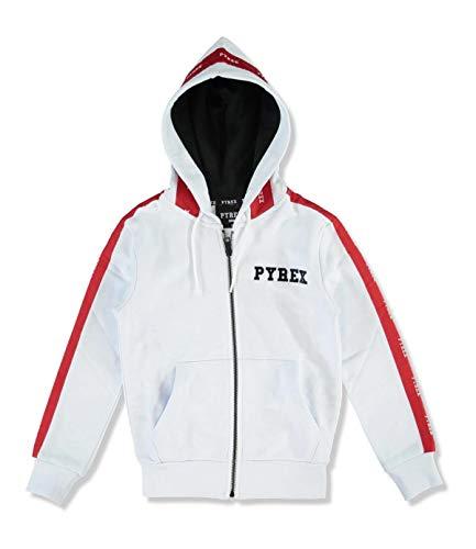 Pyrex 024528 Felpe con Zip Bambino Bianco YXXL